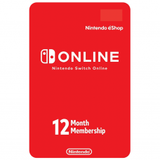 NINTENDO - CODIGO SWITCH ONLINE 12 MESES - USA