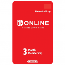 NINTENDO - CODIGO SWITCH ONLINE 3 MESES - USA