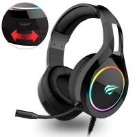 GAMENOTE - AUDIFONOS H2232D - 3.5mm x 2 - USB (RGB)