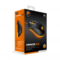 COUGAR - MOUSE MINOS X2 BLACK GAMING