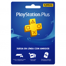 PLAYSTATION - PS PLUS 12 MESES (CUENTA CHILE) (SOLO PAGO TRANSFERENCIA)