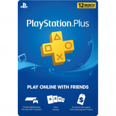 PLAYSTATION - PS PLUS 12 MESES (CUENTA USA) (SOLO PAGO TRANSFERENCIA)