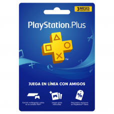PLAYSTATION - PS PLUS 3 MESES (CUENTA CHILE) (SOLO PAGO TRANSFERENCIA)