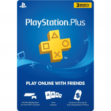 PLAYSTATION - PS PLUS 3 MESES (CUENTA USA) (SOLO PAGO TRANSFERENCIA)