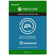 XBOX - EA ACCESS 12 MESES - USA