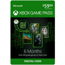 XBOX - GAMEPASS 6 MESES - USA