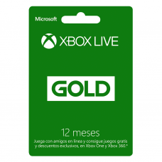 XBOX - LIVE GOLD 12 MESES - CHILE