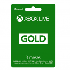 XBOX - LIVE GOLD 3 MESES - CHILE